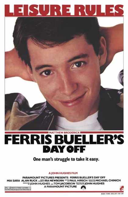 Essential Movies - Ferris Bueller's Day Off Poster