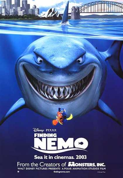 Essential Movies - Finding Nemo Poster