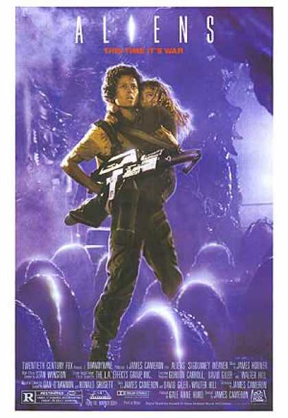 Essential Movies - Aliens Poster