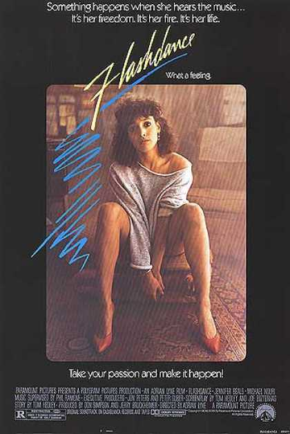 Essential Movies - Flashdance Poster
