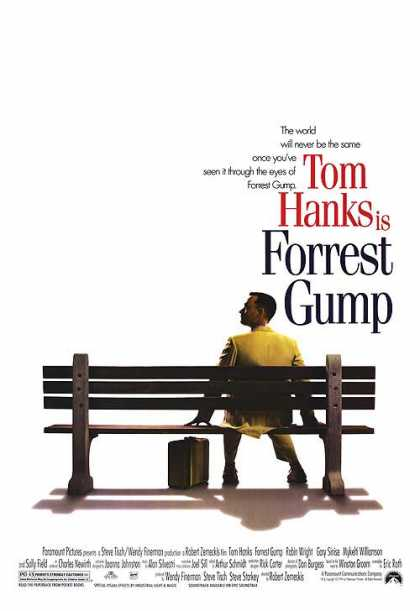 Essential Movies - Forrest Gump Poster