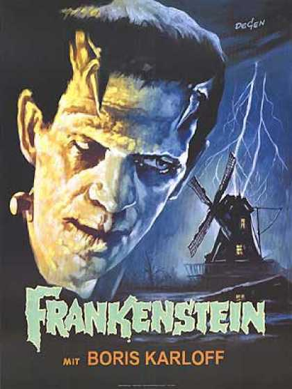 Essential Movies - Frankenstein (1931) Poster