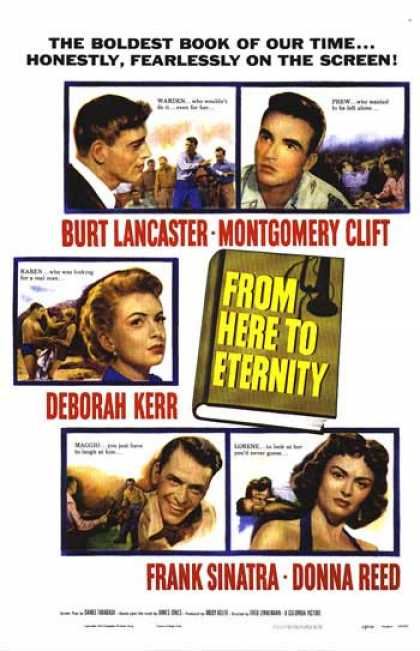 Essential Movies - From Here To Eternity Poster