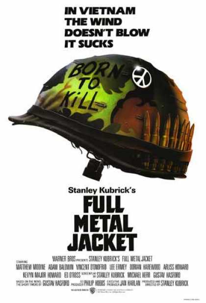Essential Movies - Full Metal Jacket Poster