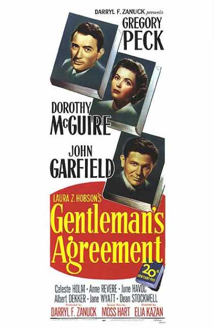 Essential Movies - Gentleman's Agreement Poster