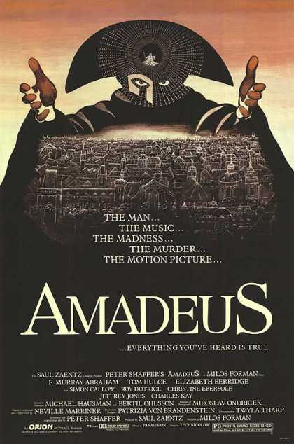 Essential Movies - Amadeus Poster