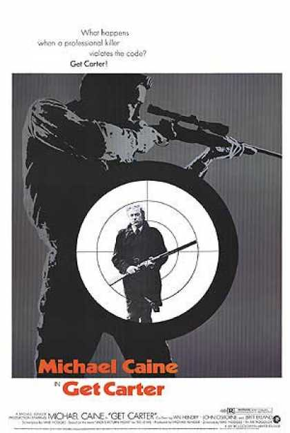 Essential Movies - Get Carter Poster