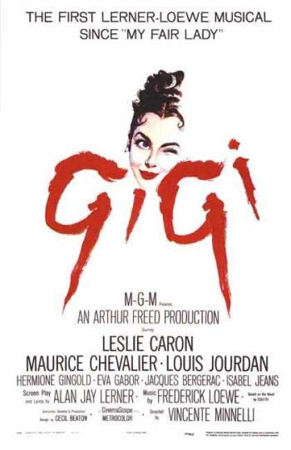 Essential Movies - Gigi Poster