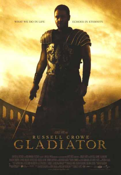 Essential Movies - Gladiator Poster