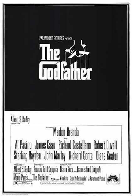 Essential Movies - Godfather Poster