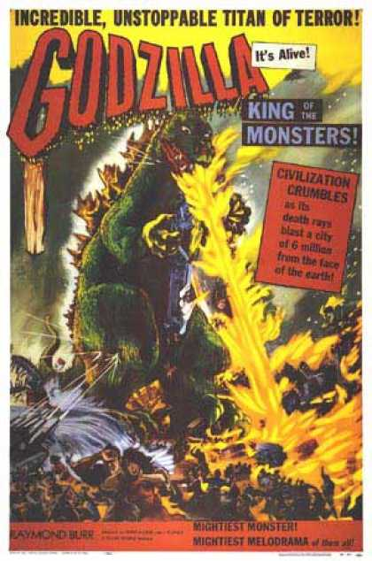 Essential Movies - Godzilla, King Of The Monsters! Poster