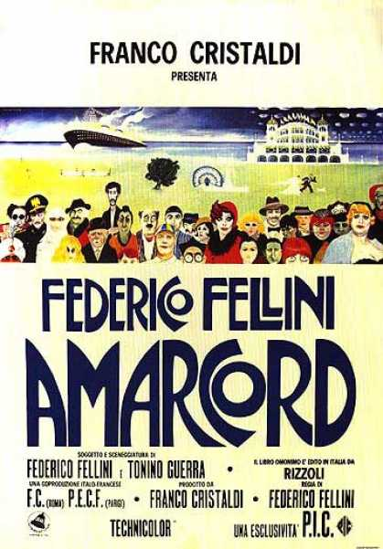 Essential Movies - Amarcord Poster