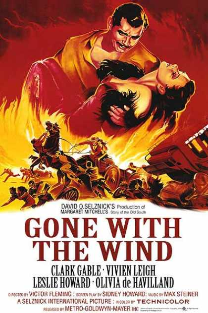Essential Movies - Gone With The Wind Poster