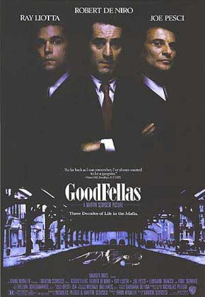 Essential Movies - Goodfellas Poster