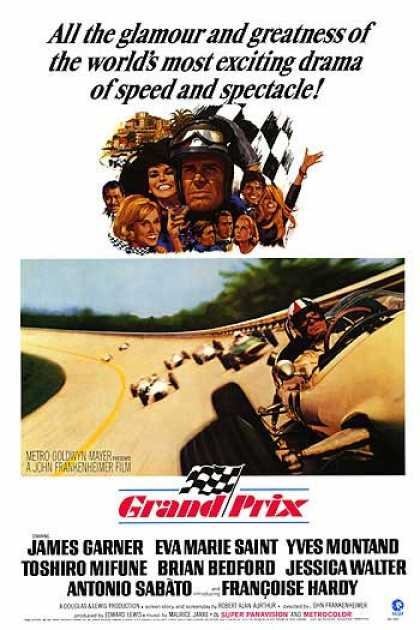 Essential Movies - Grand Prix Poster