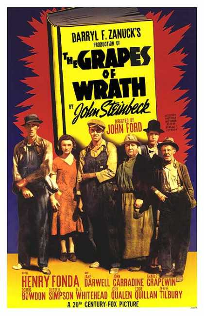 Essential Movies - Grapes Of Wrath Poster