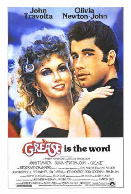 Essential Movies - Grease Poster