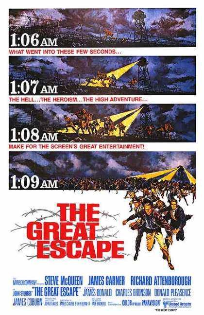 Essential Movies - Great Escape Poster