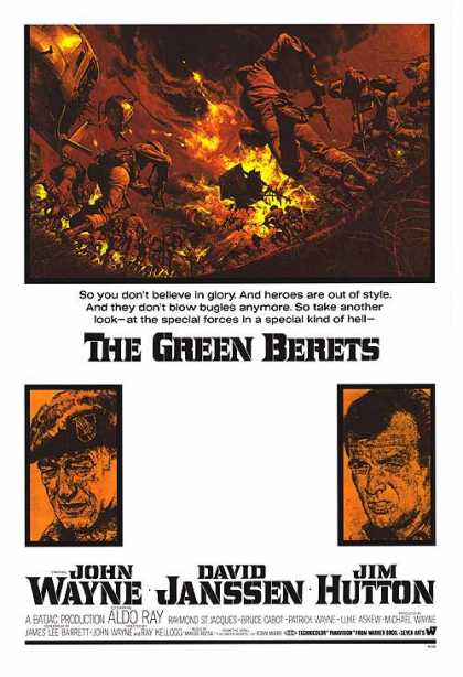 Essential Movies - Green Berets Poster