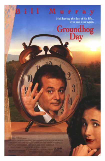 Essential Movies - Groundhog Day Poster