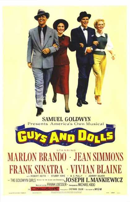 Essential Movies - Guys And Dolls Poster