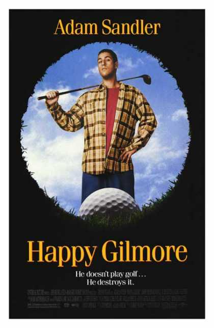 Essential Movies - Happy Gilmore Poster