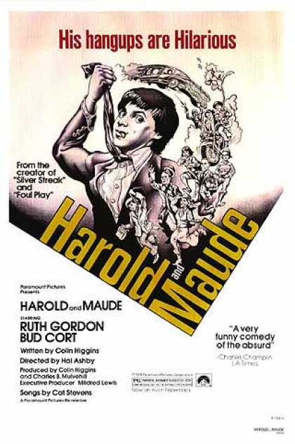 Essential Movies - Harold And Maude Poster