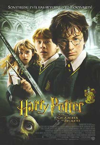 Essential Movies - Harry Potter And The Chamber Of Secrets Poster