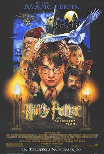 Essential Movies - Harry Potter And The Sorcerer's Stone Poster
