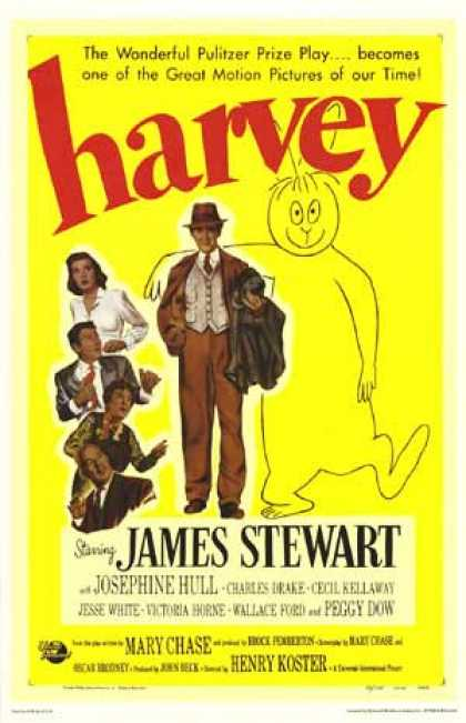 Essential Movies - Harvey Poster