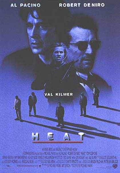 Essential Movies - Heat (1995) Poster
