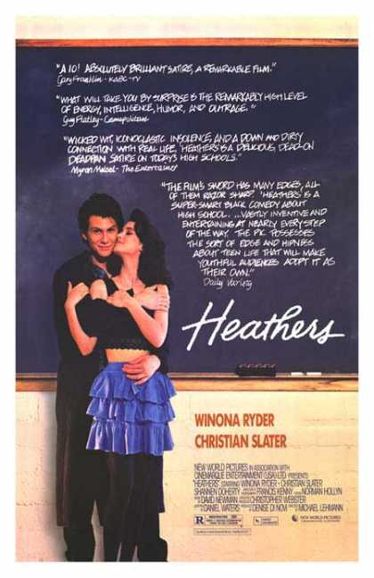 Essential Movies - Heathers Poster