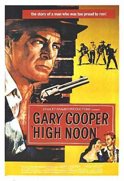 Essential Movies - High Noon Poster