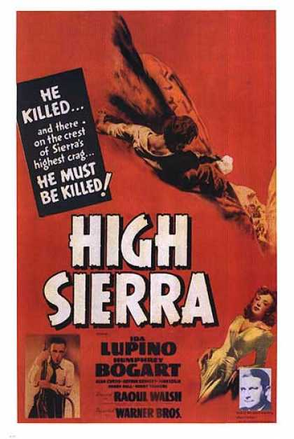 Essential Movies - High Sierra Poster