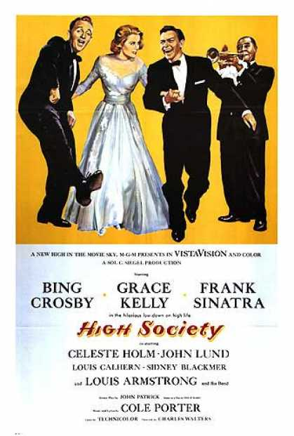 Essential Movies - High Society Poster