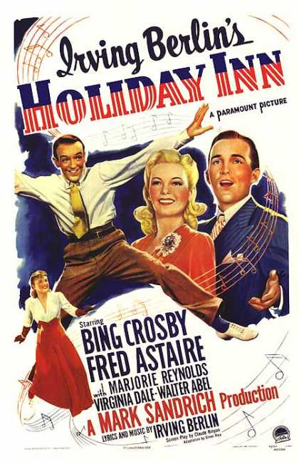 Essential Movies - Holiday Inn Poster