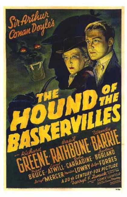 Essential Movies - Hound Of The Baskervilles Poster