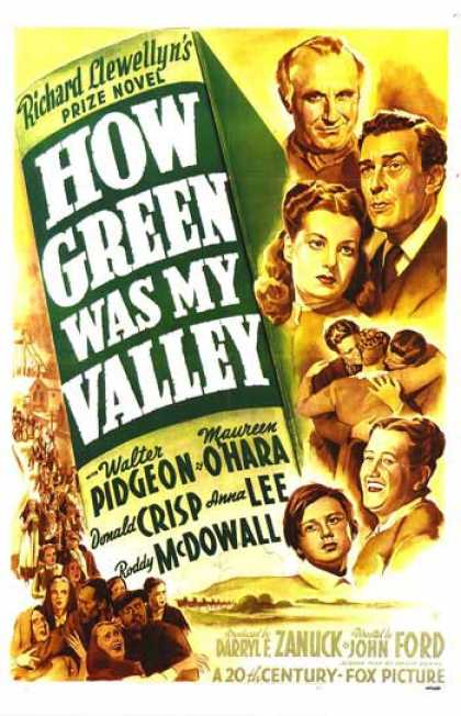 Essential Movies - How Green Was My Valley Poster