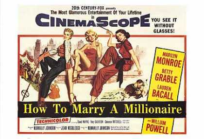 Essential Movies - How To Marry A Millionaire Poster