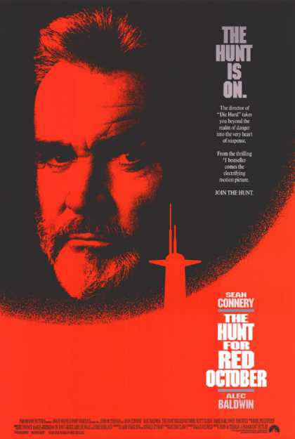 Essential Movies - Hunt For Red October Poster