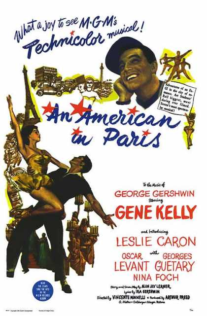Essential Movies - American In Paris Poster