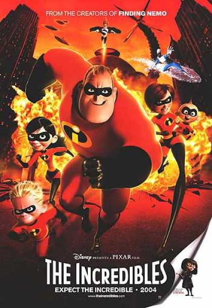 Essential Movies - Incredibles Poster