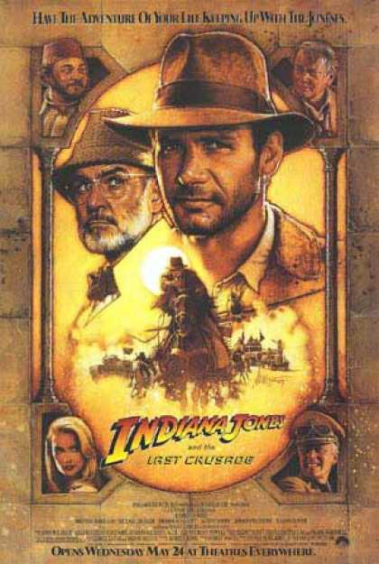 Essential Movies - Indiana Jones And The Last Crusade Poster