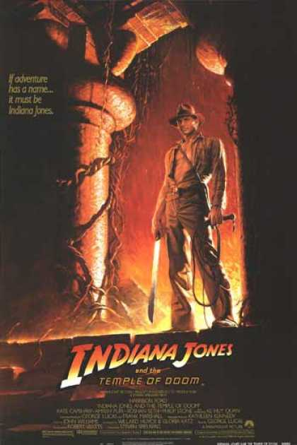 Essential Movies - Indiana Jones And The Temple Of Doom Poster
