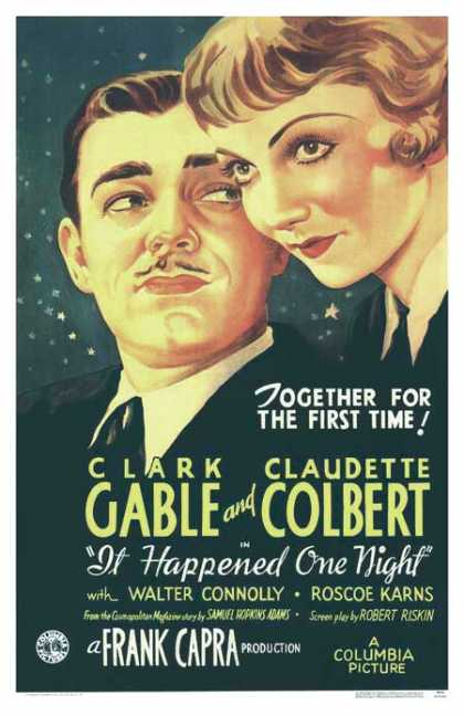 Essential Movies - It Happened One Night Poster