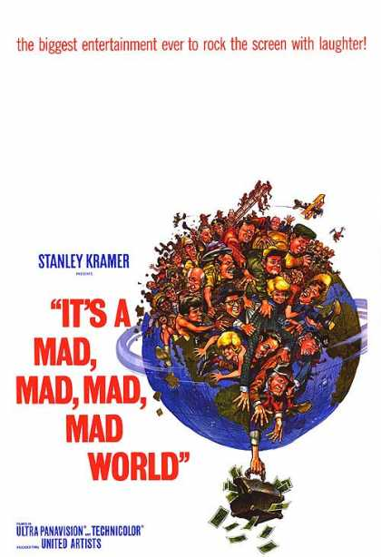 Essential Movies - It's A Mad Mad Mad Mad World Poster