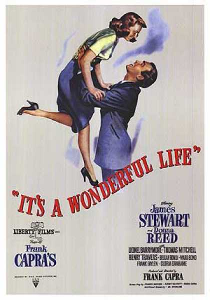 Essential Movies - It's A Wonderful Life Poster