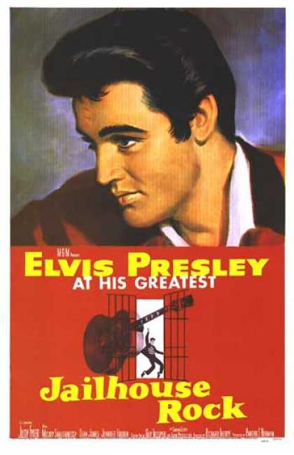 Essential Movies - Jailhouse Rock Poster