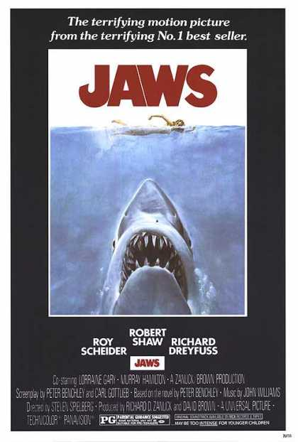 Essential Movies - Jaws Poster