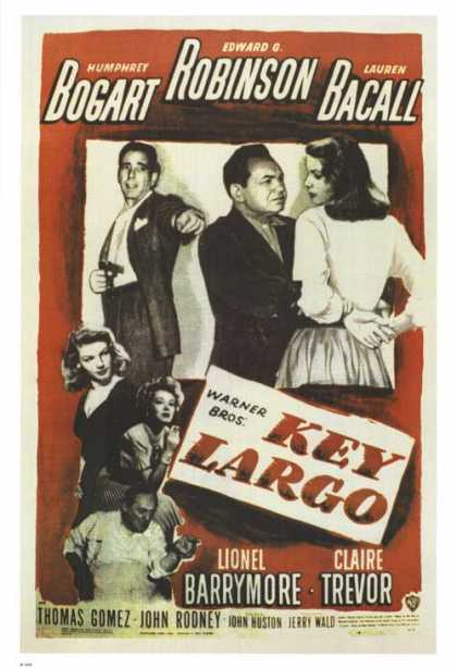 Essential Movies - Key Largo Poster